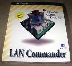 Mac OS LAN Commander Centralized Control & Soft... - $26.45