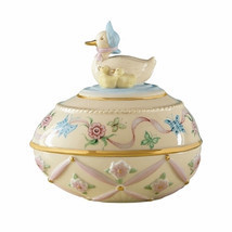 Lenox 2011 Annual Animal Easter Egg Darling Duc... - $58.15