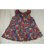 Toddler fall floral dress girl  2 3 2T 3T handc... - $7.00