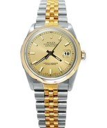 Champagne stick dial Rolex date just watch two ... - $3,484.80