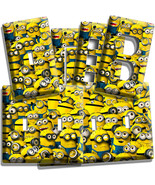CUTE DESPICABLE ME MINIONS LIGHT SWITCH OUTLET ... - $7.99 - $17.59