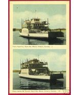 SOO ONTARIO Car Ferry Agoming James W Curran Ship - $10.00