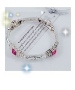 Antiqued Daughter's Blessing Jeweled Engraved B... - $12.00