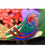 Vintage Tara Ware Bird Brooch Pin Celtic Irish ... - $22.95