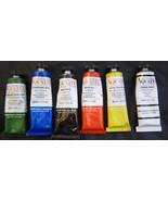 Bocour 6 Pack Aqua-Tec Acrylic Paint Paints Bla... - $20.00