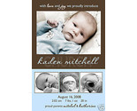 Buy Announcements - 20 x Photo Baby BOY Birth Announcements + 25 + Designs