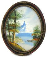 Painting Oil on Canvas Original Landscape Mount... - $20.00
