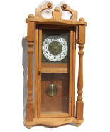 Pendulum Hanging Wall Clock Wood Wooden 15
