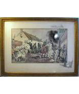 Revolutionary War? Framed Print Battle Soldiers... - $20.00