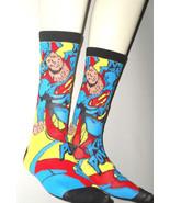 NEW Flying Superman Socks TWO PACK 2 pair KA-PO... - $10.00