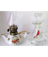 Anhor Hocking  Virginia Cardinal Cruet & Cerami... - $18.00