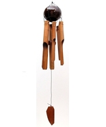 Bamboo/Coconut Windchime-Medium Wind Chime - $15.00