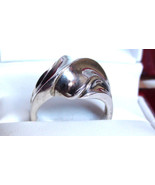 Art Modernist and Abstract Ring Dome Big and Bo... - $29.00