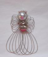 2015 Year Dated Angel Ornament Handmade - $8.00