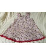 Toddler pink gold floral dress girl  2 3 2T 3T ... - $7.00