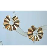 Avon Art Moderne Goldtone Earrings - $12.95