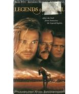 Legends Of The Fall VHS Brad Pitt Anthony Hopki... - $1.99