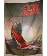 OZZY OSBOURNE Blizzard of Ozz Cloth Poster Flag... - $13.84