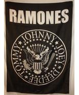 Ramones Tommy Joey Johnny Deedee Cloth Poster F... - $13.84