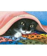 ACEO art print Cat #286 by Lucie Dumas - $4.99