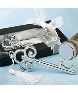 50 Key To My Heart Bottle Openers Wedding Favor... - $74.23