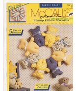 Plump Pillow Wreaths to Sew Patterns McCall's C... - $4.00