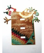 Southwest Lizard Double Light Switch Cover Plat... - $32.47