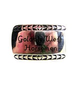 Vintage Golden West Horsemen Belt Buckle Unbran... - $23.12