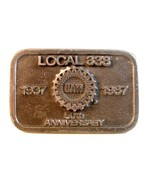 1937 - 1987 UAW United Auto Workers Local # 338... - $17.59