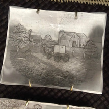 Wendell August Forge Horse Carriage Landscape H... - $16.79