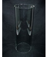 Glass Cylinder Tube Light Lamp Shade 6 X 14 in ... - $74.95