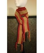 2 Tone Crochet Scarf - $30.00