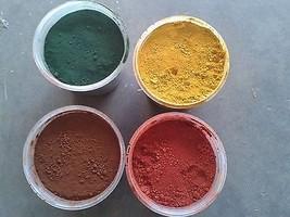 Concrete Color Iron Oxide Pigment Powder Dye Co... - $11.99