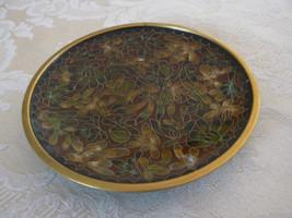 Antique/Vintage Oriental Cloisonne Browns Orang... - $13.99