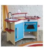 Corner Wooden Kitchen Pretend Play Cooking Chef... - $189.99