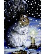 ACEO art print Squirrel #8 by L. Dumas - $4.99