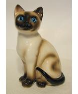 Enesco Brown Siamese Cat Figurine - $44.54