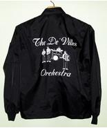 60's 70's Vintage Black Racing Style Band Jacke... - $29.00