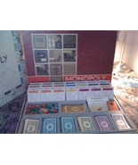 MONOPOLY Game RED BOX Original Pieces Styrofoam... - $35.00