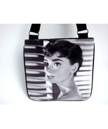 Audrey Hepburn Classic Fashion Messenger Bag Purse - $20.00