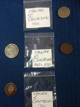 Centesimi Italian Coins Italy Coin Hunt 1861-19... - $13.62 - $34.18