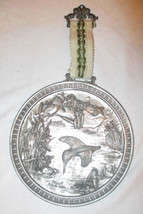 Vintage WMF German Pewter Zinn Wall Plaque eisv... - $49.45