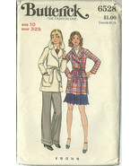 Butterick Sewing Pattern 6528 Misses Womens Jac... - $19.99