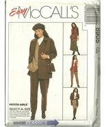 McCall's Sewing Pattern 8905 Misses Womens Jack... - $14.98
