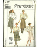 Simplicity Sewing Pattern 7814 Misses Womens Pl... - $9.98