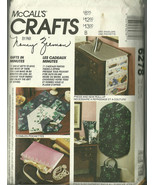 McCall's Sewing Pattern 6278 Crafts Gifts Garme... - $12.98