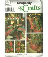 Simplicity Sewing Pattern 9748 Christmas Holida... - $9.98