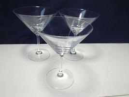 3 Schott Zwiesel Martini Stems~~nice ones~~signed - $19.95