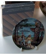 Avon Canadian Portraits Collection Plate West C... - $6.99