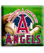ANAHEIM ANGELS BASEBALL MLB TEAM LOGO DOUBLE LI... - $11.99